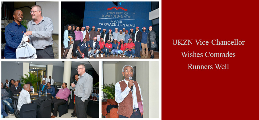 UKZN Vice-Chancellor Wishes Comrades Runners Well