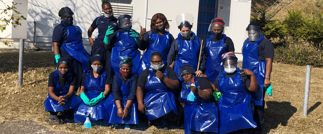 UKZN Cleaning Services Staff Among Unsung Heroes in Fight Against Coronavirus